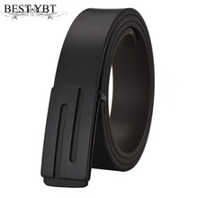 Buy Best YBT Fashion Men Belt leather Alloy Smooth Buckle Men casual advanced PU Belt Designer Popular Casual Business Male Belts for $4.45 in AliExpress store