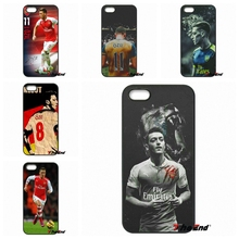 For Samsung Galaxy Note 2 3 4 5 S2 S3 S4 S5 MINI S6 Active S7 edge Mesut Ozil For arsenal Football Star Phone Case