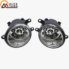 Malcayang Angel Eyes Car styling LED Fog LIGHT Lights 1 set (Left + right) For toyota Camry 2007-2014(China)