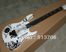 Free Shipping Newest White Kirk Hammett Ouija Electric Guitar High Quality Wholesale(China)