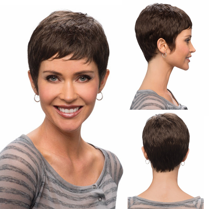 New Arrival Short Natural Hair Heat Resistant Fiber Synthetic Hair Women Wigs In Cheap Price<br><br>Aliexpress