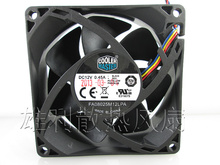 Original Cooler Master FA08025M12LPA 12V 0.45A 8CM 80*80*25MM 4 wire PWM hydraulic mute selling CPU fan