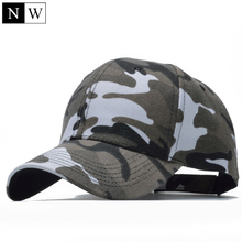2017 Snow Camo Baseball Cap Men Tactical Cap Camouflage Snapback Hat For Men High Quality Bone Masculino Dad Hat Trucker(China)