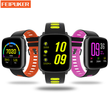 GV68 IP68 Waterproof Smart Watch Pedometer Heart Rate Monitoring Swimming Sport Smartwatch MTK2502 IOS Android Phone - Feipuker Store store