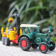 siku 1:64 Alloy car model tractor trailer Sliding car Transporter car Children like the gift Decoration worth collecting(China)
