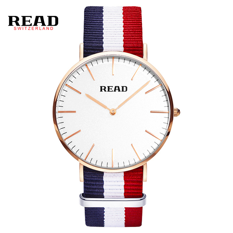 READ men watch Luxury Genuine Calf Leather ultrathin Lovers Watches Business And Casual Quartz Wristwatch R2020<br><br>Aliexpress