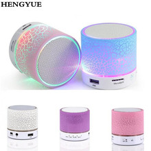 Buy LED Portable Mini Bluetooth Speakers Wireless Hands Free Speaker TF USB FM Mic Blutooth Music Mobile Phone iPhone 6 7 s for $5.53 in AliExpress store