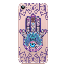 Fatima hand Case for iphone 6 6S 5s SE 7 7plus 6plus 6Splus Soft Silicone Phone Back Cover Capinha Coque