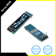 0.91 Inch 128x32 IIC I2C Blue OLED LCD Display Module