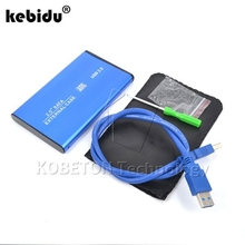 "kebidu NEW USB 3.0 to SATA 2.5"" inch HDD External Enclosure USB3.0 Hard Disk Drive Case Box for PC Computer Laptop Notebook"