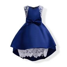 Baby Girl Princess Dress Kids Lace Autumn Winter Flower Wedding Party Dresses Toddler Girl Children Clothing