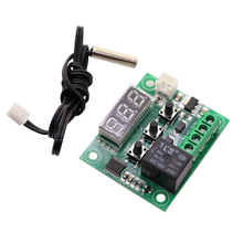 Buy Thermostat DC12V -50~110 Degrees Celsius Mini Regulator Digital Temperature Controller Incubator Temp Control Switch Plate for $2.82 in AliExpress store