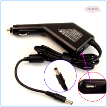 Laptop Car DC Adapter Charger Power Supply + USB Port for ASUS K40 K42 K50 K42J N50 N51 N53 N61 N70 N80 N81 N90