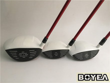Brand New Boyea 12PCS AERO Full Set Golf Clubs Driver +Fairway Woods + Irons R/S Flex Graphite/Steel Shaft With Head Cover