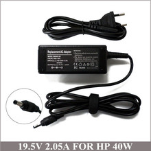 19.5V 2.05A 40W Laptop AC Adapter Free Shipping For HP Mini PC 110-3018CL 210 CQ10 210-2070nr 210-2080nr 580402-002 609949-001
