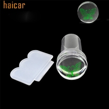 HAICAR ColorWomen 2.4cm Clear Nail Art Stamping Scraper Image Plate Manicure Print Tool 160928 Drop Shipping(China)