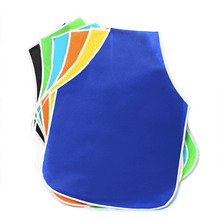 10 Pcs Unisex Children Kids Non-woven Fabrics Waterproof Sleeveless DIY Painting Drawing Art Craft Smock Apron Mixed Color
