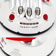 Polygraph Shocking Liar Micro Electric Lie Detector Game Toy LED's Fact or Porky