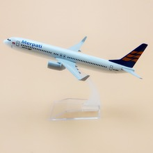 16cm Alloy Metal Air Merpati Airlines Model Boeing 737 B737 Airlines Plane Model Craft Aircraft Free Shipping