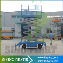 High Strength And Reliability ISO9001 Electric Scissor Lifting Table