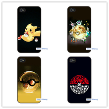 Red White Pokemons PokeBall Case Cover for iphone 7 7 plus 6 6s plus 5 5s 5c SE 4 4s(China)