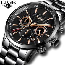 Buy 2018 LIGE Mens watches Luxury Brand business Quartz Watch Men Military Sports Waterproof Dress Wristwatch relogio masculino for $24.99 in AliExpress store