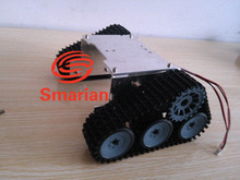 Official smarian Wireless T300 WiFi RC Metal Tank chassis model, Wall-E robot, intelligent car track