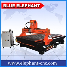 Rack and gear transmission 1530 woodworking cnc router / cnc router machine with vacuum table(China)