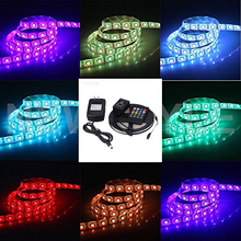 vusum SMD RGB LED Light Strip 5050 60eds/m Waterproof 5 M 10 M LED AC 220 V -110V DC 12V Adapter Power Strip Complete Series(China)