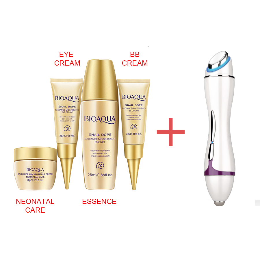 Mini Vibration anti-wrinkle eye massager LED light Acne Wrinkle Remover face lifting beauty machine line remover dry+Free cream<br>