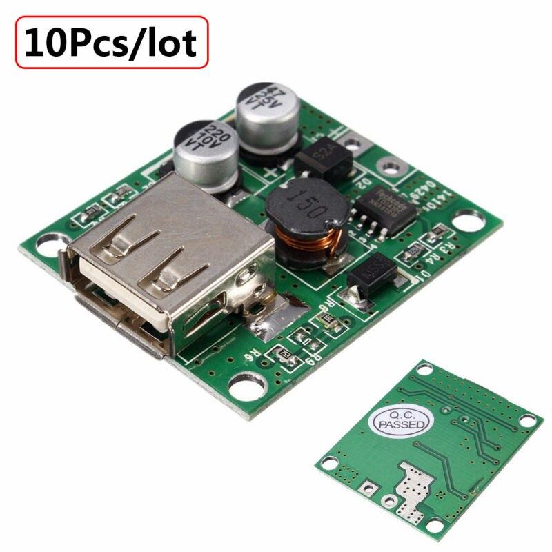 10Pcs universal Solar Panel Power Bank USB Charge 6V 20V input 5V 2A Output Voltage Controller Regulator Pro DIY for all phone<br><br>Aliexpress