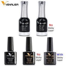 Venalisa Base Gel Top Coat Matte Top Gel No wipe Nail Gel 7.5~12ml All Nail Base&Top Gel