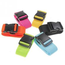 1pcs Packing Belt Adjustable Suitcase Luggage Straps Travel Buckle Baggage Tie Down Belt Lock