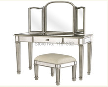MR-401321 mirrored dressing table(China)