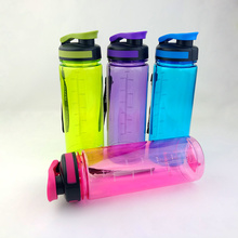 700ml Shaker Bottle Water Bottle With Tea Infuser Portable Plastic Hiking Bike Bicycle Cycling Camping Water Bottles Hot Sale(China)