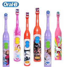 Oral B DB3010 Children Electric Toothbrush Kid 3+ Gum Care Soft Bristle Waterproof AA Battery Stain Removing 1 Pc