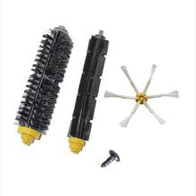 3pcs/lot Bristle Brush + Flexible Beater Brush +side brush +screw Kit for iRobot Roomba 700 Series 760 770 780 790 Accessories(China)