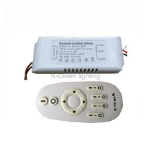 1X 2.4g wireless constant current cct dimmable led driver 95-265V input 18-28W with 2.4G  RF remote controller free shipping