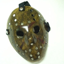 100pcs/lot Black Friday NO.13 Jason Voorhees Freddy hockey festival party Halloween masquerade mask (adult size) 100gram