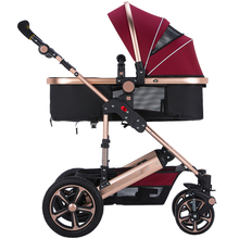 Brand Baby Stroller Car High Landscape Folding Portable Shockproof Stroller Accessories Buggy Baby Stroller 3 In 1 Newborn