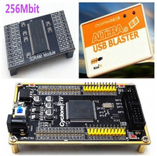 ALTERA CYCLONE IV FPGA Core Board EP4CE6E22C8N + 256Mbit SDRAM Module + USB Blaster Integrated Circuits