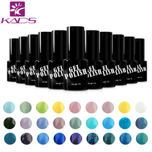 KADS nails gel polish colors 9.5ml Nail Polish UV Led Long Lasting Nail Gel Polish DIY Nail Art Gel Lacquer(China)