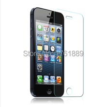 5 pcs wholesale front covering protecteur protective tempered glass touch screen phone for mobile iphone iphon 5s 5(China)