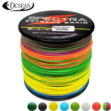 SPECTRA 300M Power Pro 4Strands Braided Fishing Line Japan 100% PE Multifilament Fishing Line Carp Braided Rope Cord 10-60LB