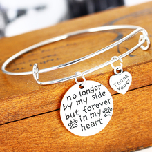 Love Paws Heart no longer by my side but forever in my heart Dog Tag Prints Bangle Lovers Women Men Jewelry Gifts Charm Bracelet