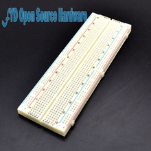 Breadboard 830 Point Solderless PCB Bread Board MB-102 MB102 Test Develop DIY(China)