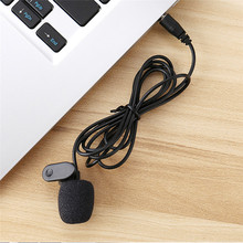 Newest 3.5mm Hands Free Computer Clip on Mini Lapel Microphone For PC Skype MSN Free Shiiping H0T0