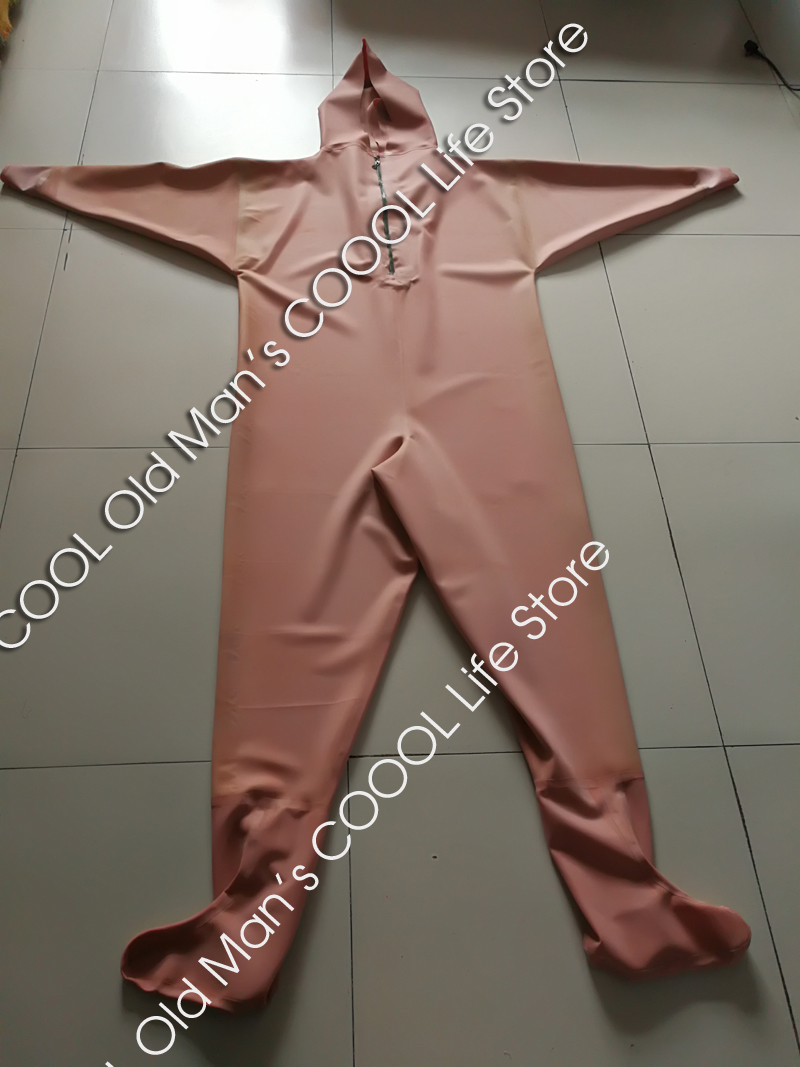 Thick Red Rubber Fishing Waders (Overalls) 2