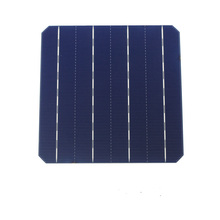 10 Pcs 4.7W 156MM Photovoltaic Monocrystalline Solar Panel Solar Cells 6x6 High Efficiency Grade A For DIY Solar Modules