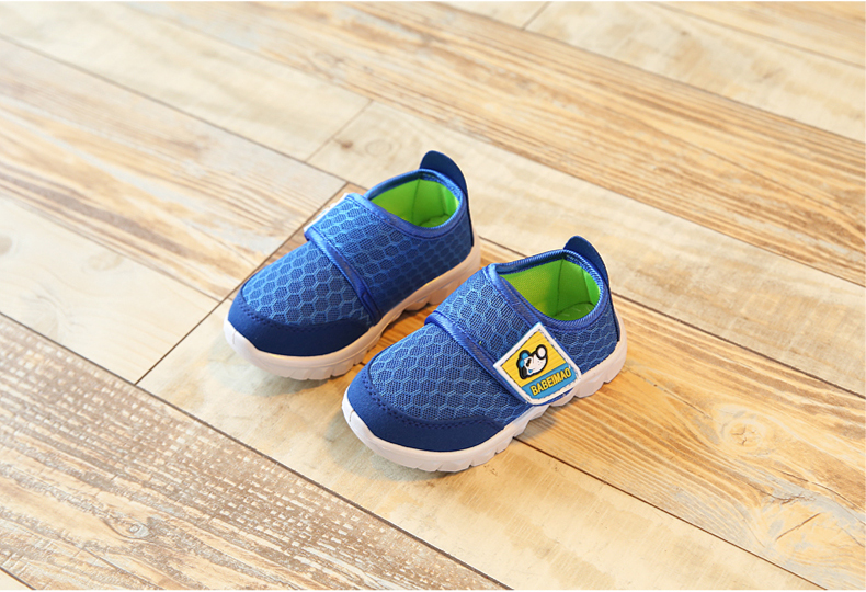 17 Autumn Kids Shoes Boys Girls Sports Shoes Breathable Mesh Children Casual Shoes Sneakers Soft Sole Toddler Baby Shoes 10